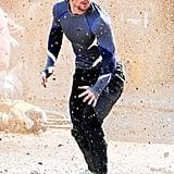 Aaron Taylor-Johnson as Quicksilver.