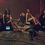 """""""Mi Mala"""" by Mau y Ricky feat. Karol G, Becky G, Leslie Grace, and Lali"""