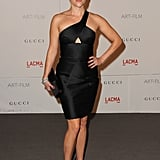 The actress tapped into her futuristic side in a black cut-out Cushnie et Ochs dress in 2011.