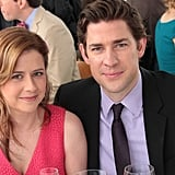 Jim and Pam are ever the adorable couple in attendance.