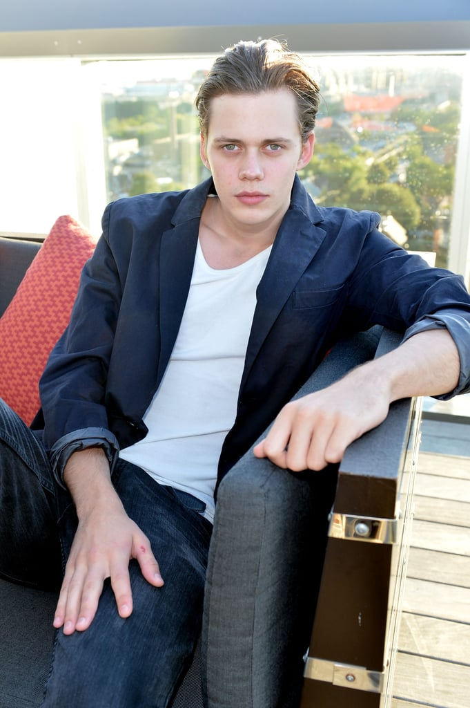Bill Skarsgard Is Extremely Hot, and We Are Not Clowning Around