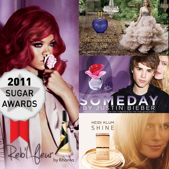 Vote For the Year's Best Celebrity Perfume in our Sugar Awards!