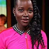 Lupita Nyong'o's Waterfall Side Braid in 2019