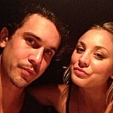 """In August, Ryan shared this pic from a """"date night with my angel #headoverheals.""""  Source: Instagram user Ryan Sweeting"""