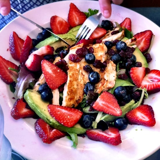 Berry and Avocado Chicken Salad