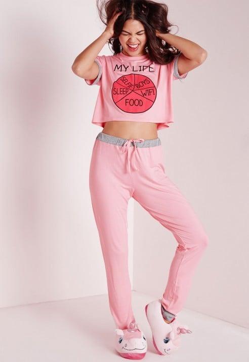 My Life Pajama Set ($34) | Gift Ideas For Funny Friends | POPSUGAR ...