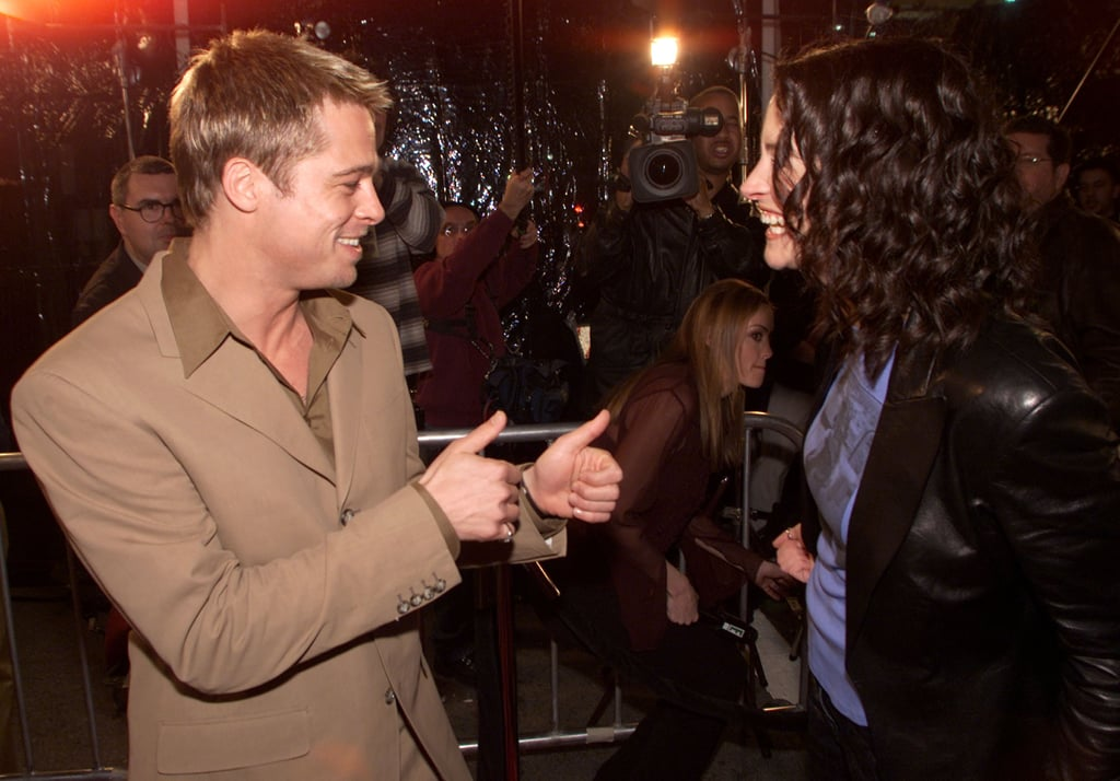 Brad Pitt gave Julia his seal of approval at the premiere of The Mexican in 2001.
