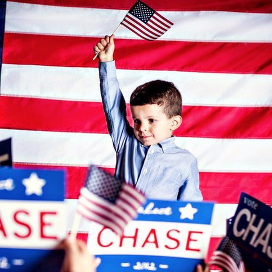 Little Boy Running For President