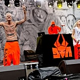 South African band Die Antwoord were delightfully weird at their Friday set.