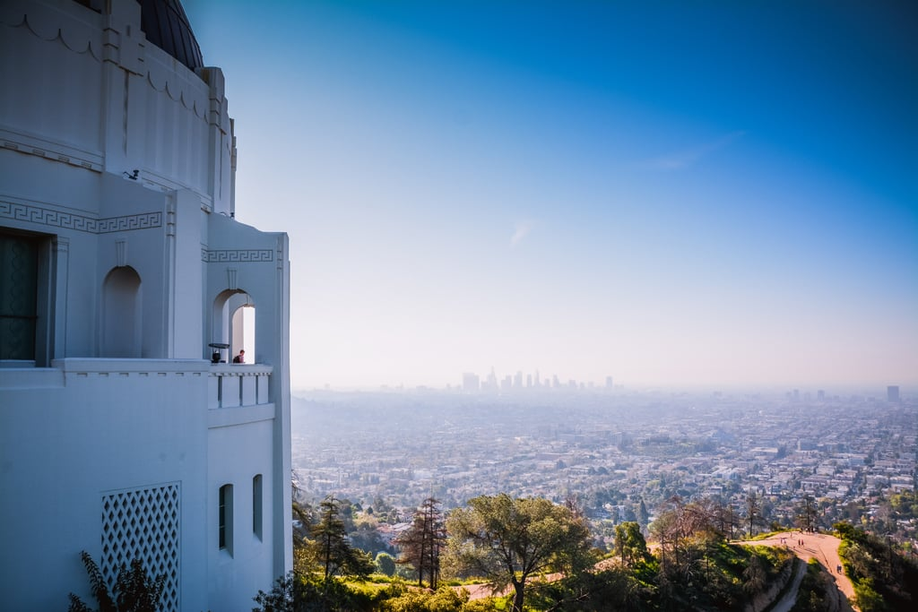 Go to an observatory for a view of your city or town!