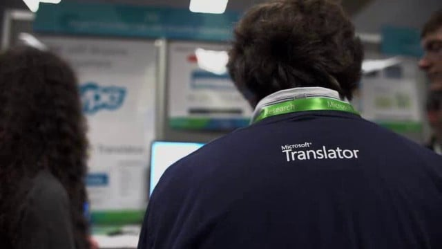 Watch: Sneak Peek of Microsoft Skype Translator