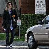 Drew Barrymore Takes a Break to Catch Up on Business
