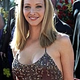 Lisa Kudrow looked hot on the red carpet at the 2000 Emmys.