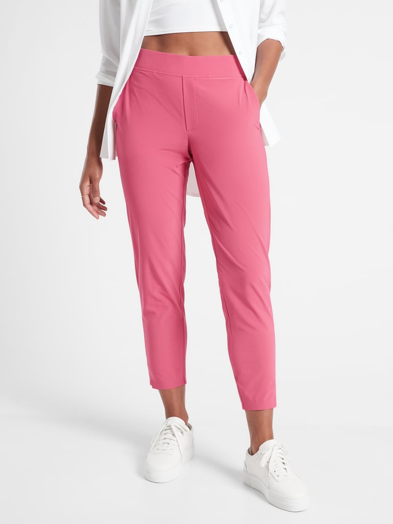 For Outdoor Activities: Brooklyn Ankle Pant + Sports Bra + Zip Jacket