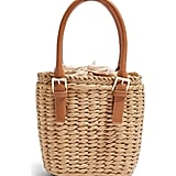 Topshop Sandy Straw Mini Grab Bag