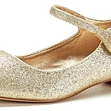 DREAM PAIRS Glitter Flats