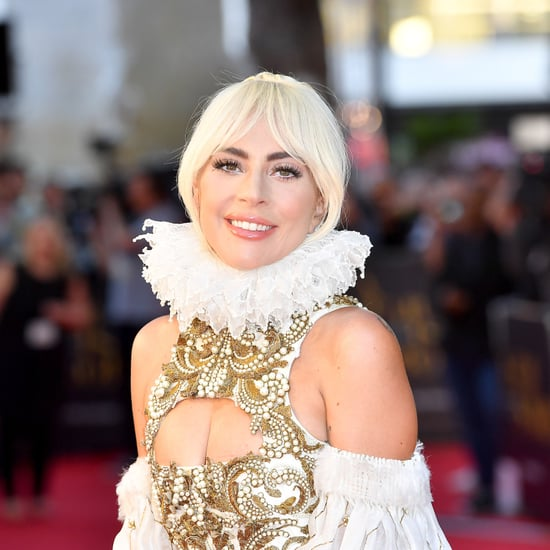 Lady Gaga Alexander McQueen Dress A Star Is Born Premiere