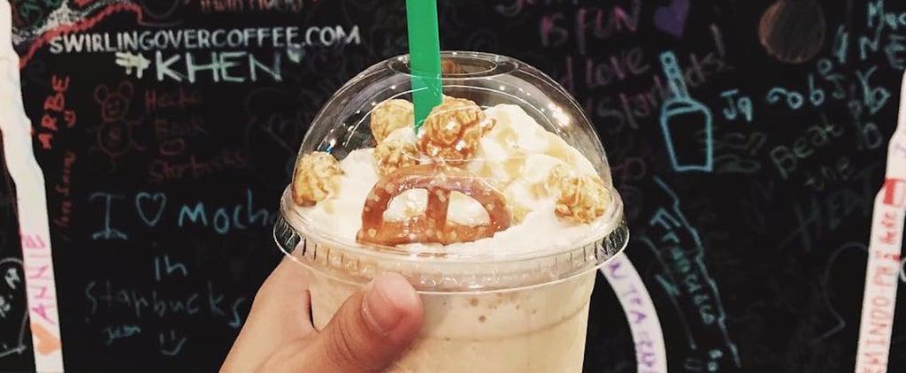 Starbucks Pop'zel Frappuccino in the Philippines
