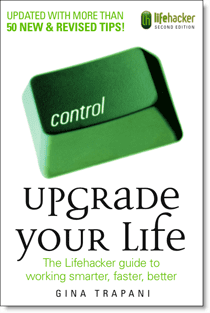 New Book Upgrade Your Life by Lifehacker Editor Gina Trapani