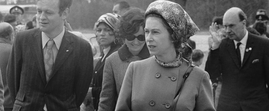 Queen Elizabeth Wearing Trousers