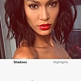 Joan Smalls With Red Filter