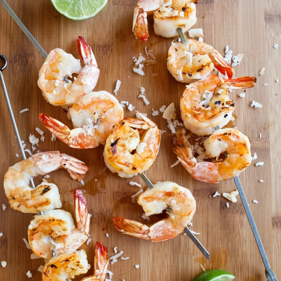 Grilled Coconut Shrimp