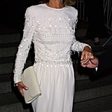 Lee Radziwill at the 2001 Met Gala