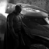 First, we got this peek at a brooding Batman (Ben Affleck) from director Zack Snyder's Twitter account.