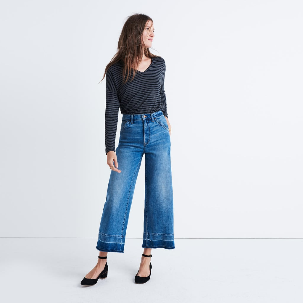 how to wear wide leg cropped pants 2017
