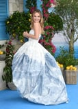 fb1f51f75b4dc9cc301814.71457547  - Lily James Wore the Largest Ballgown, however All You may Be Capable of Concentrate on Are Her Bridal Heels
