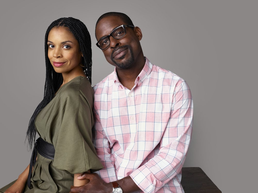THIS IS US -- Season: 4 -- Pictured: (l-r) Susan Kelechi Watson as Beth Pearson, Sterling K. Brown as Randall Pearson -- (Photo by: Jeff Lipsky/NBC