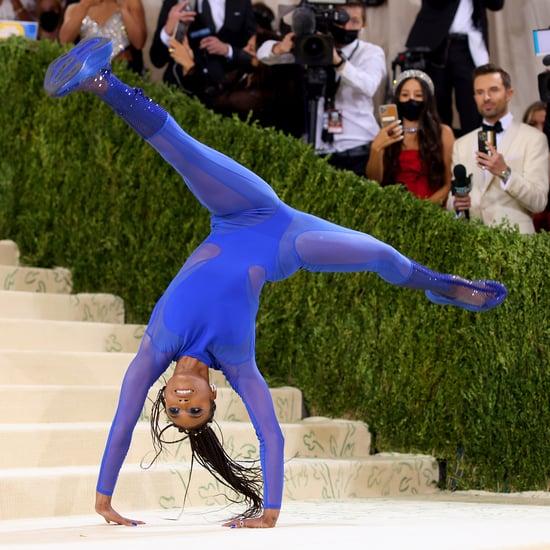 See Nia Dennis Do Gymnastics on the 2021 Met Gala Red Carpet