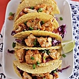 Sriracha Roasted Cauliflower Tacos With Red Cabbage Slaw