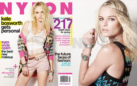 Pictures of Kate Bosworth on the March 2011 Cover of Nylon Magazine 2011-02-22 15:34:00