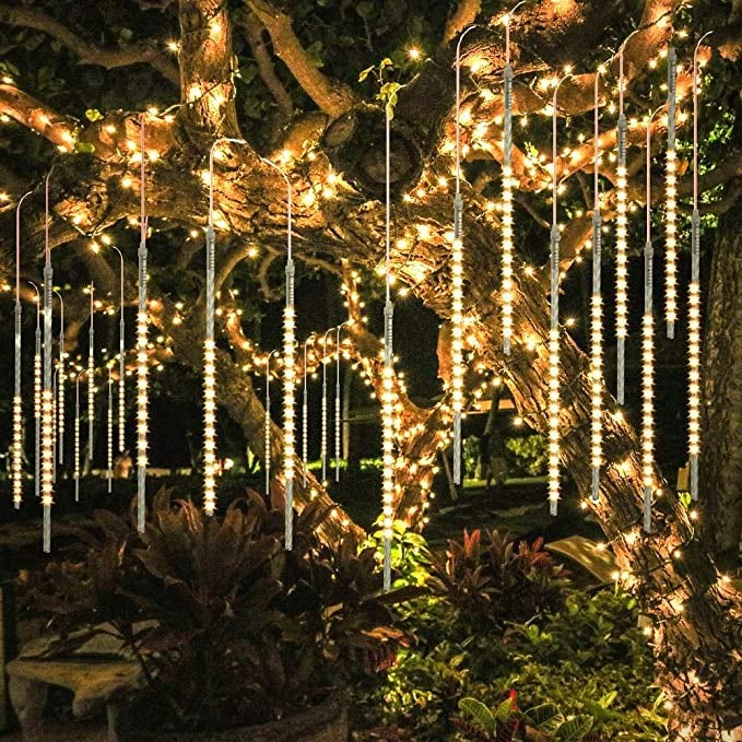 LED Icicle Waterproof Cascading Lights