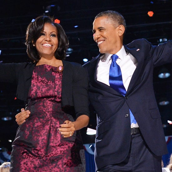 On Her Style Trail: Michelle Obama Wore Michael Kors on Election Night