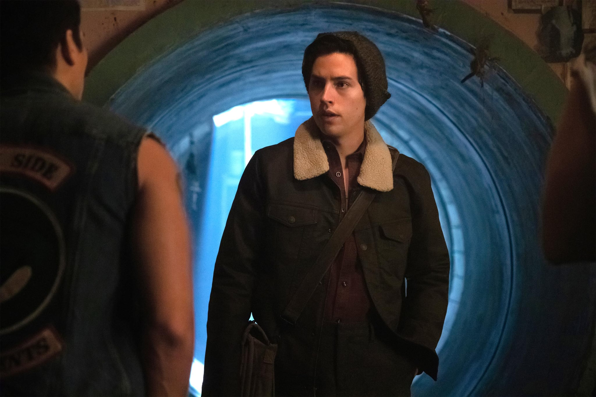 RIVERDALE, Cole Sprouse, 'Chapter Forty-Six: The Red Dahlia', (Season 3, ep. 311, aired Jan. 30, 2019). photo: Jack Rowand / The CW / courtesy Everett Collection