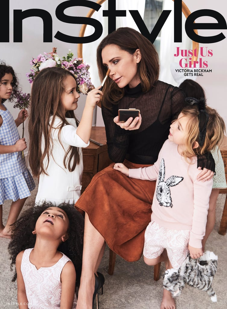 Victoria Beckham InStyle Cover April 2017