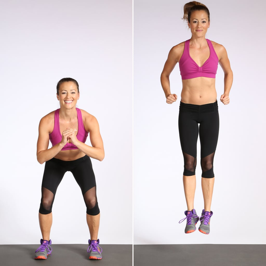 Plyometrics: Jump Squat With Heel Click