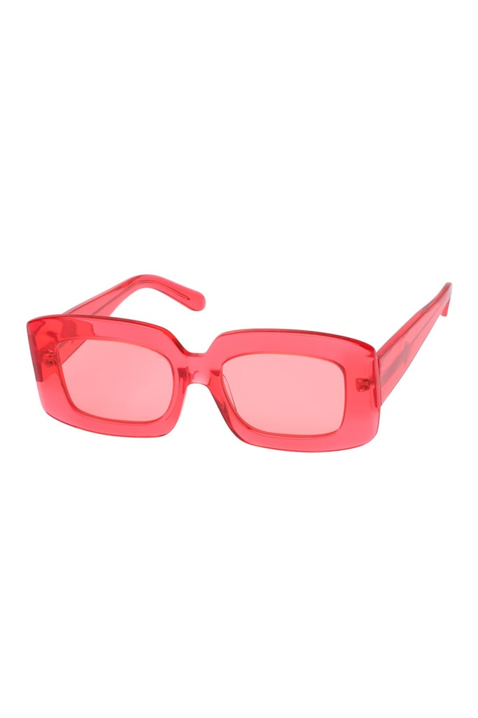 Karen Walker Loveville Watermelon Sunglasses ($289.08)