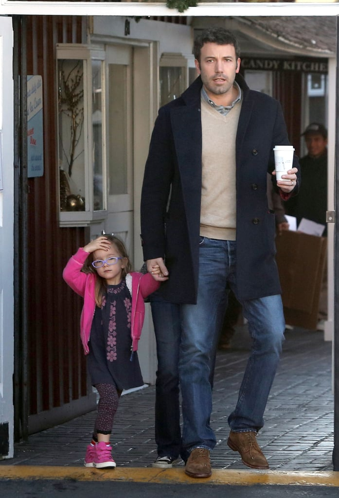 Ben went on a breakfast run with Seraphina while mom Jen was working in New Orleans.