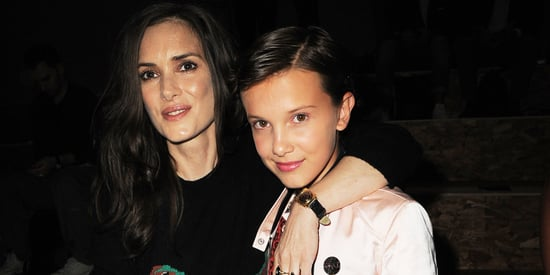 Millie Bobby Brown And Winona Ryder Had The Best 'Stranger Things' Reunion