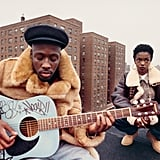 Wyclef Jean and Lauryn Hill from The Fugees, East Harlem, New York, 1993
