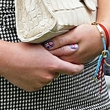 Princess Eugenie's Union Jack Nails