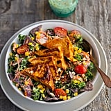 BBQ Tofu Corn Kale Ranch Salad