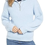 BP. Quarter Zip Sweater