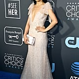 Constance Wu at the 2019 Critics' Choice Awards