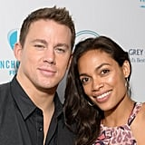 Channing Tatum and Rosario Dawson attended a Ten Years brunch in NYC.