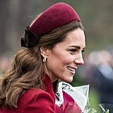 Kate Middleton on Christmas Day in 2018