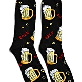 Patterned Beer Socks